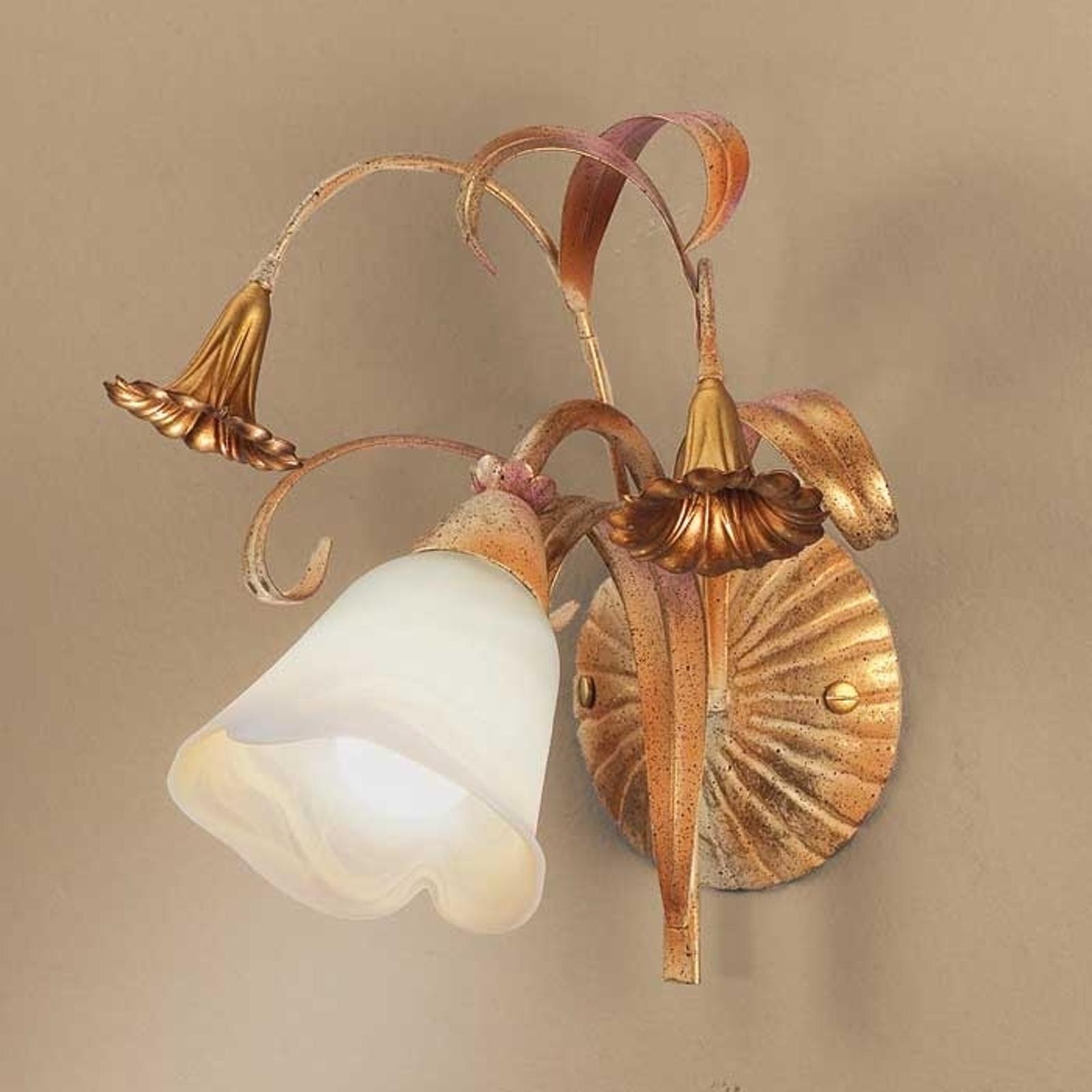 Applique style florentin Giovanni à 1 lampe