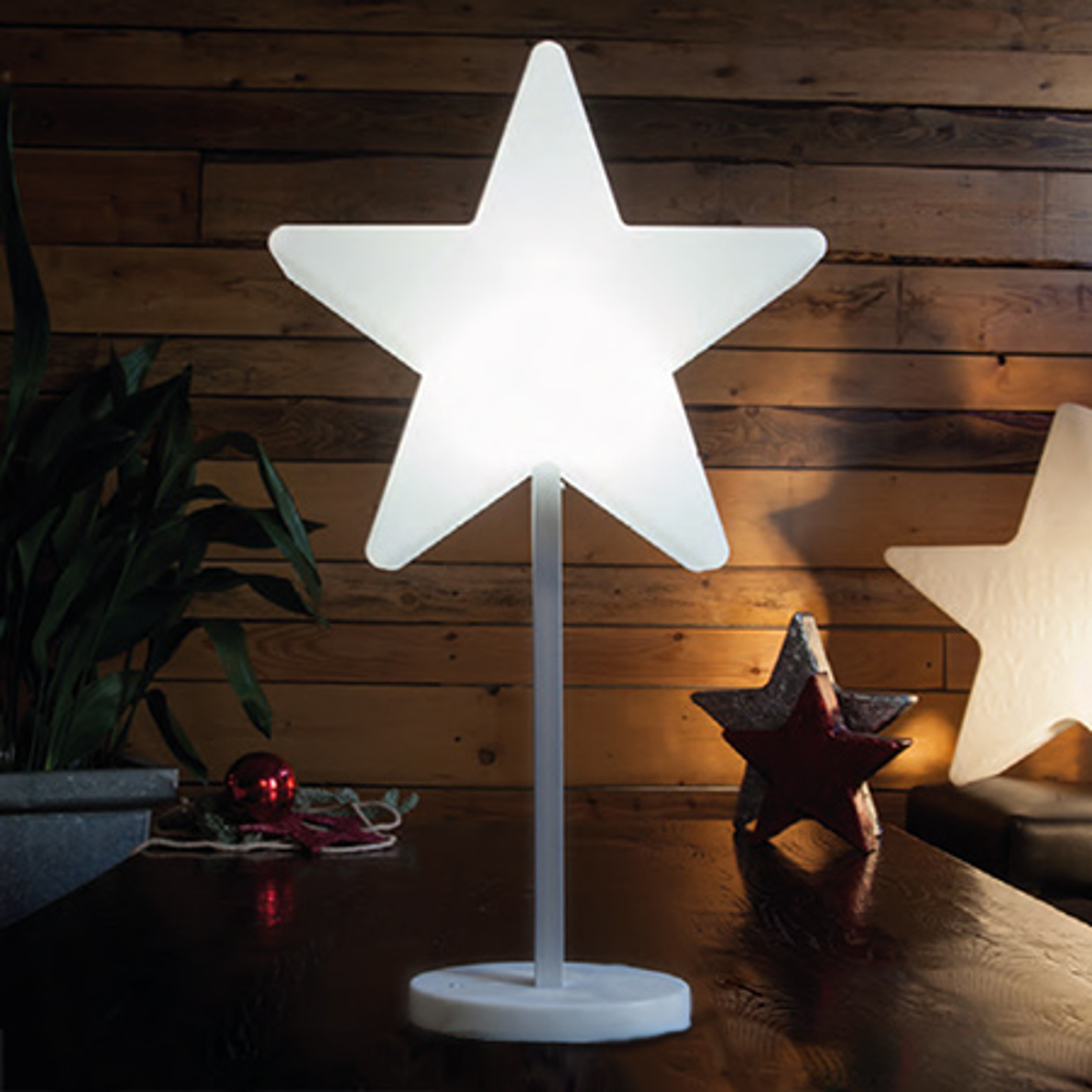 Jolie lampe décorative LED Shining Window Star