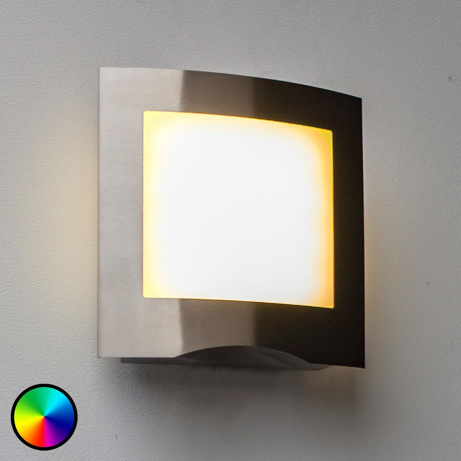 WiZ kinkiet zewnętrzny LED Farell stal nierdzewna