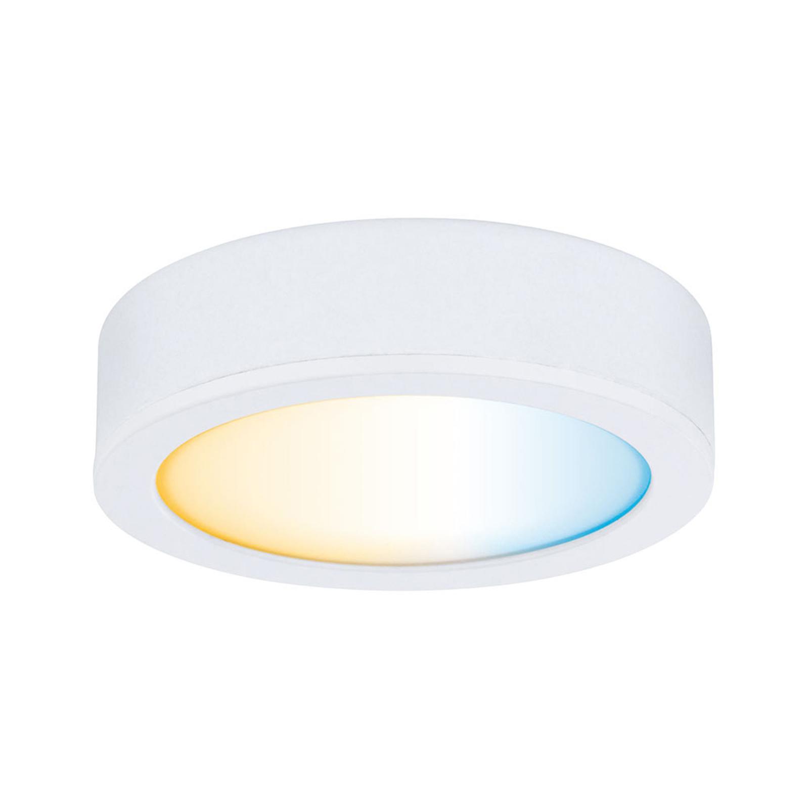 Paulmann Clever Connect Disc lampa do mebli, biała