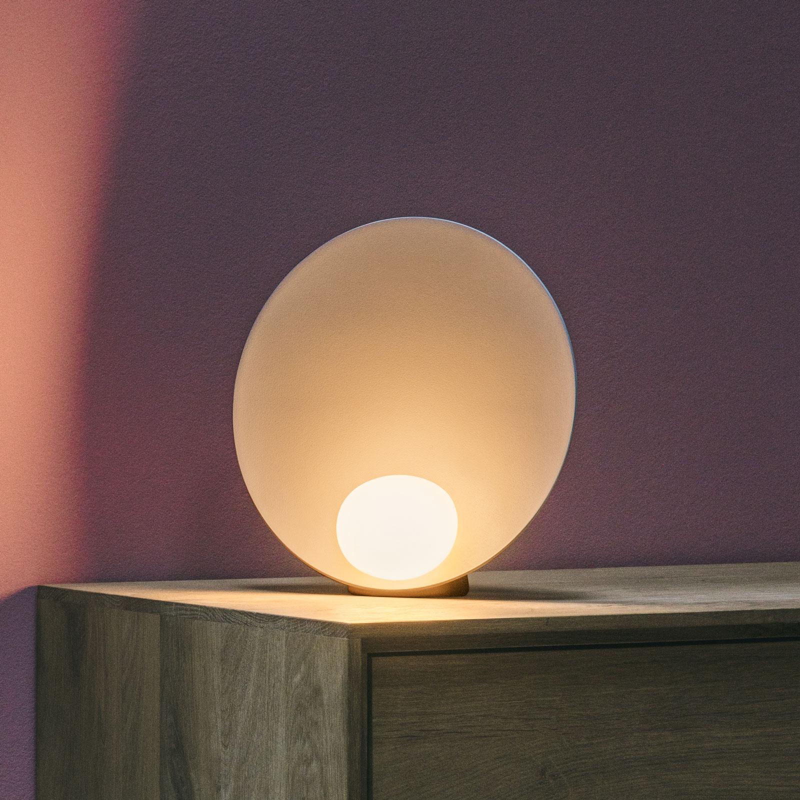 Vibia Musa 7400 lampe à poser LED debout, saumon