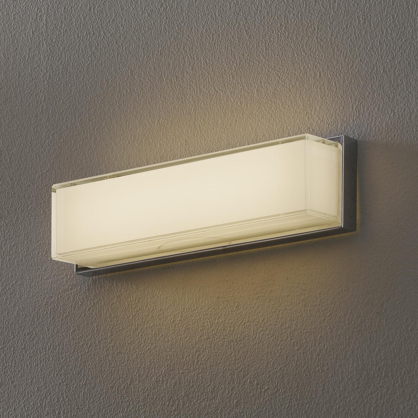 Helestra Cosi applique LED cromo altezza 31 cm