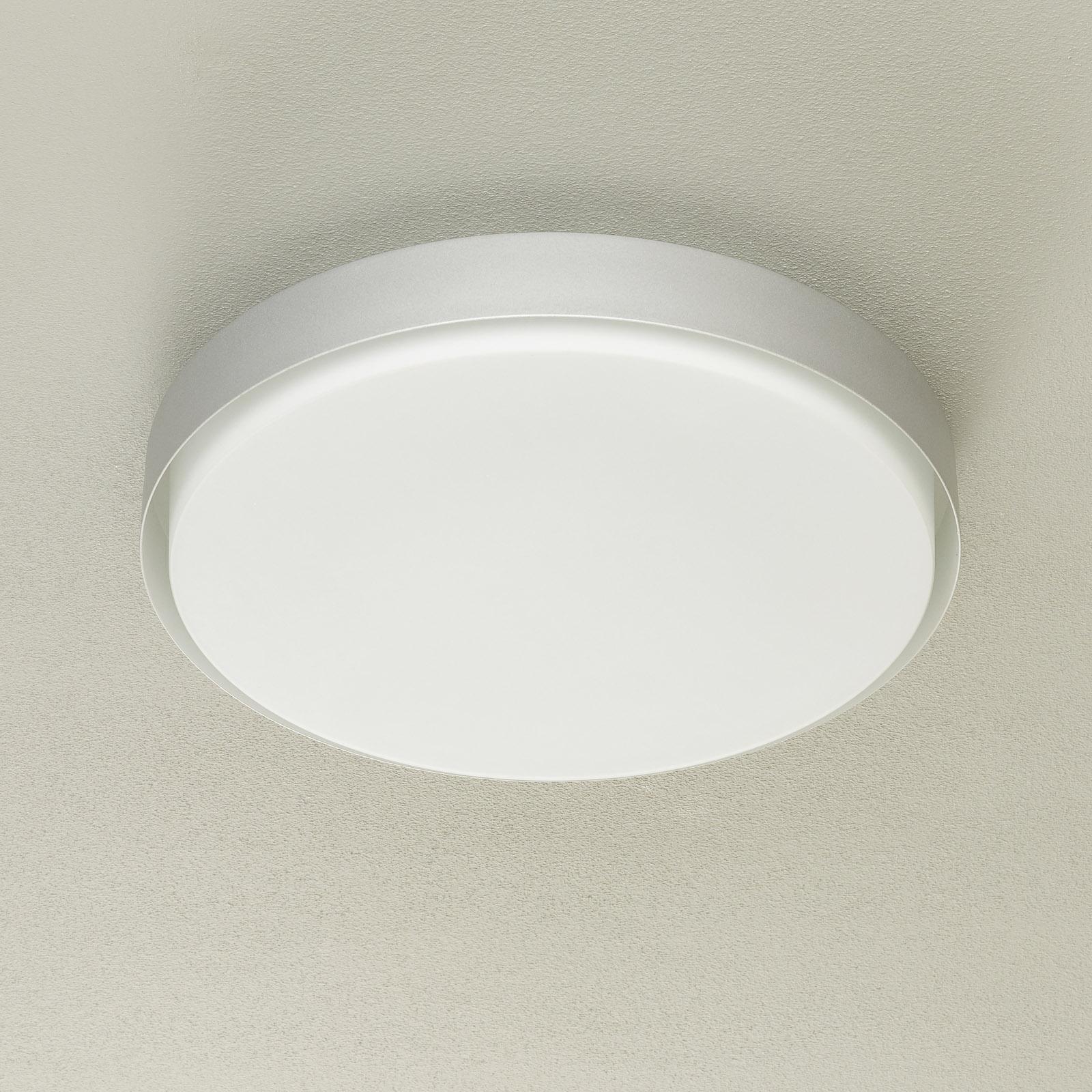 BEGA 12165 plafonnier LED, alu, Ø 50cm, DALI
