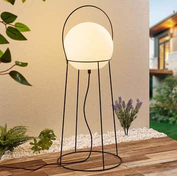 Lucande Hoyka lámpara de pie exterior