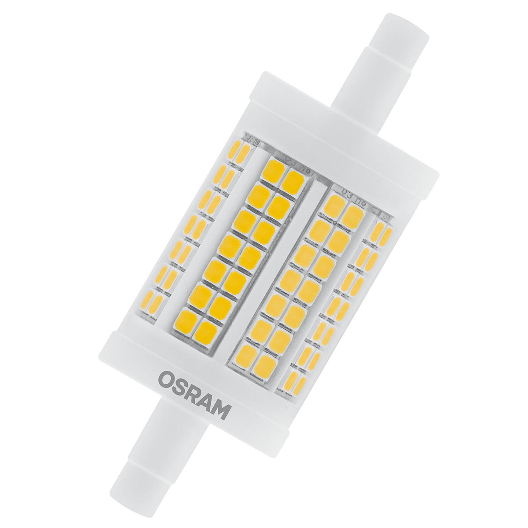 OSRAM LED-Stablampe R7s 11,5W 7,8cm 827 dimmbar