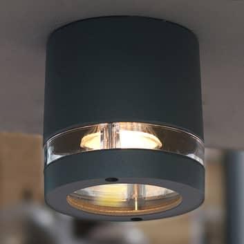 Venkovní stropní svítidlo Focus, antracit