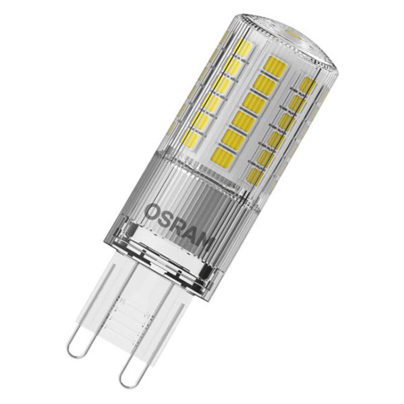 OSRAM LED-stiftpære G9 4,8 W 2700K klar