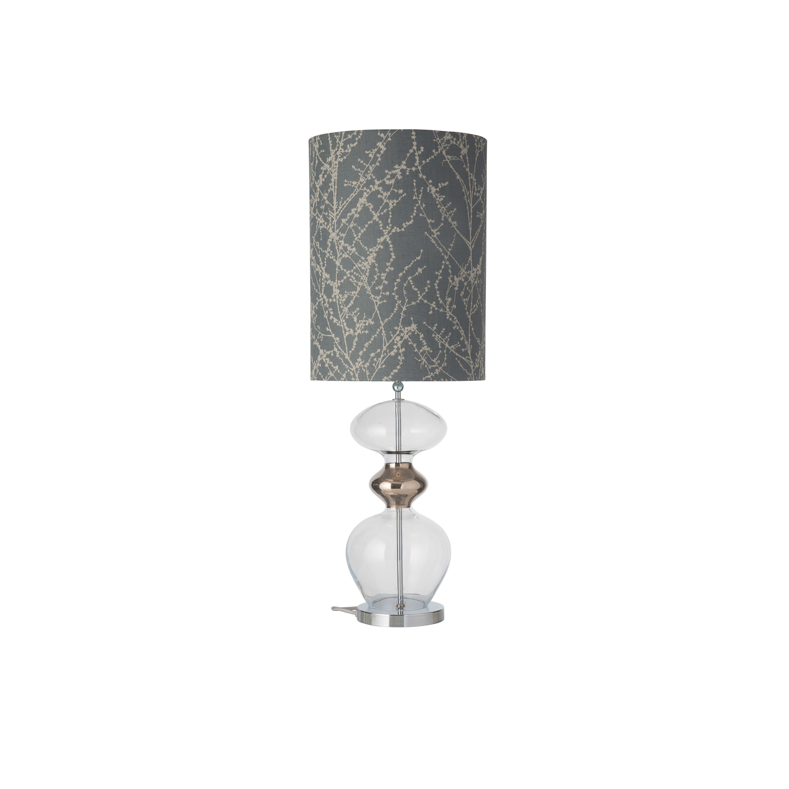 EBB & FLOW Futura bordlampe, Branches grey/silver