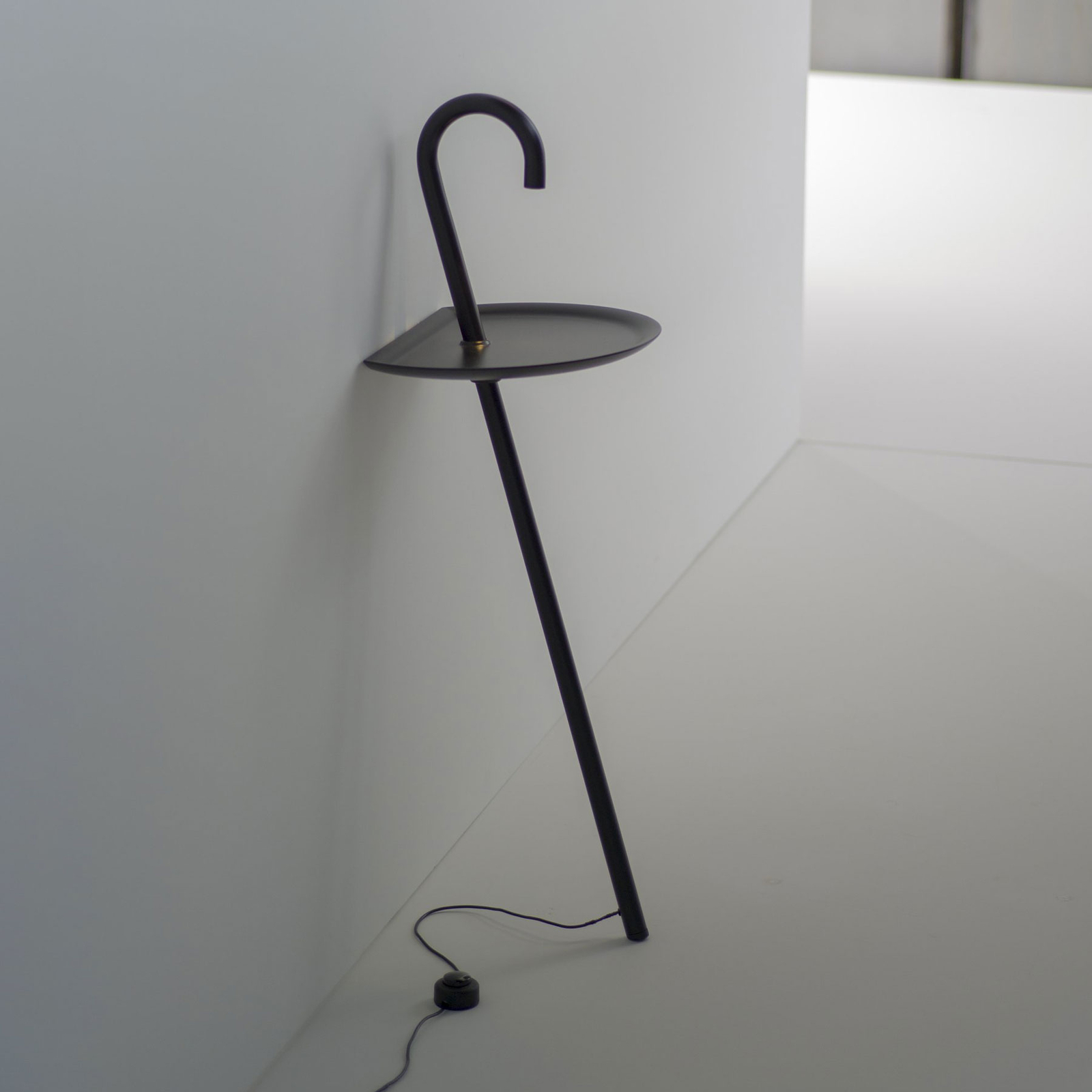 Martinelli Luce Clochard LED-designerlampe, sort