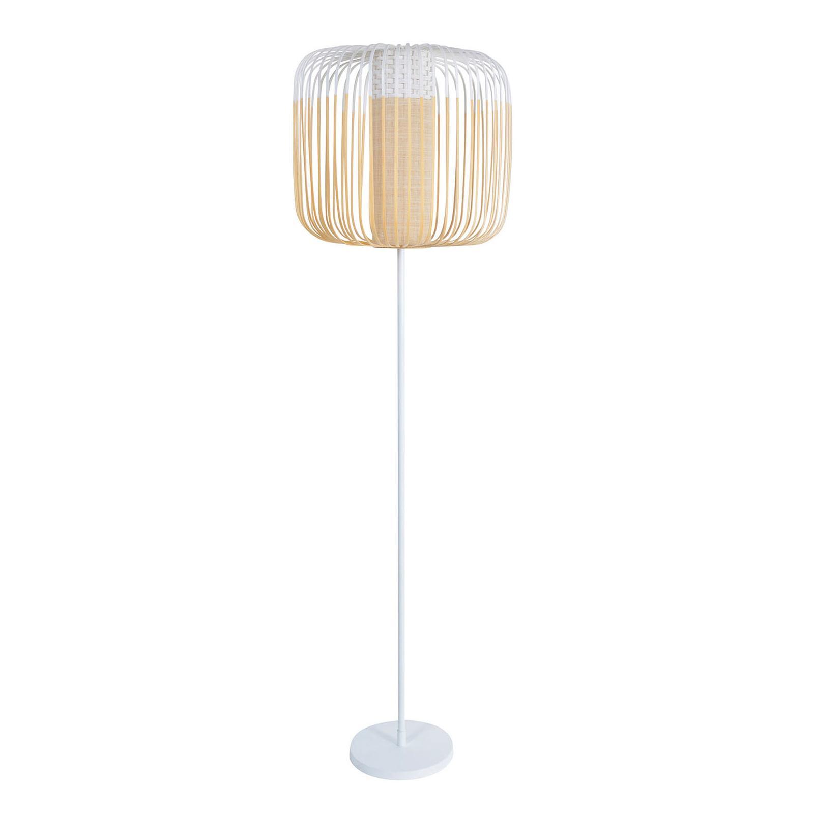 Forestier Bamboo Light vloerlamp 1-lamp wit