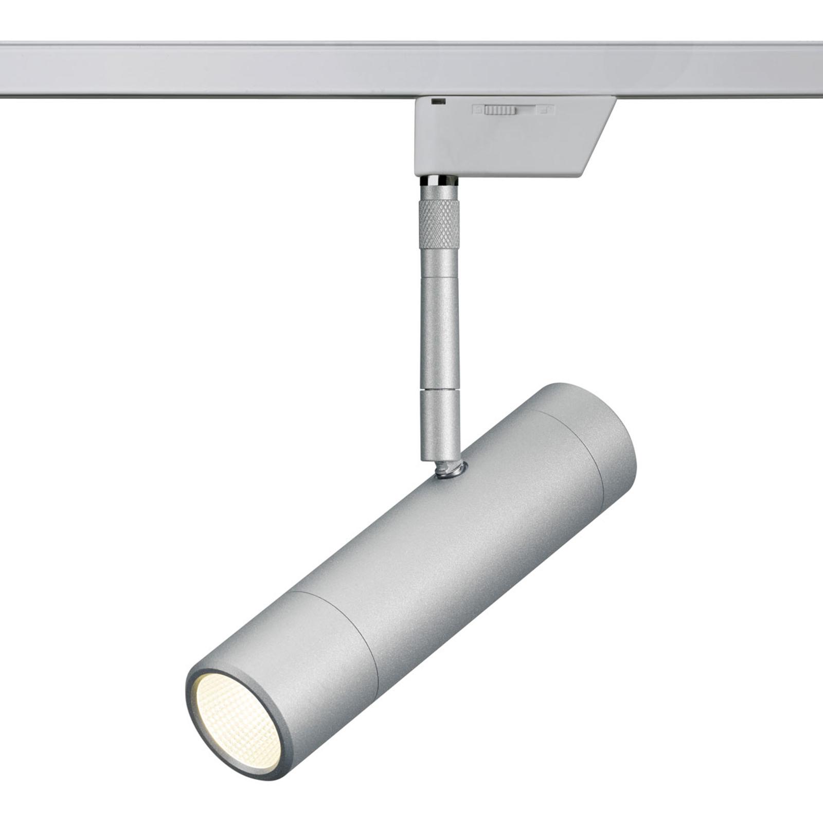 Oligo Sentry LED-Schienenspot chrom matt 2.700 K