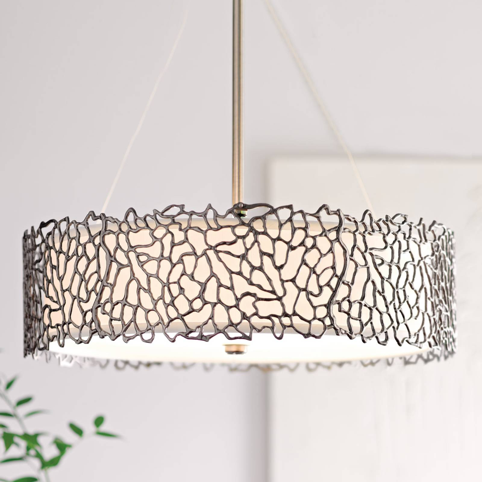 Hanglamp Silver Coral 55,9 cm