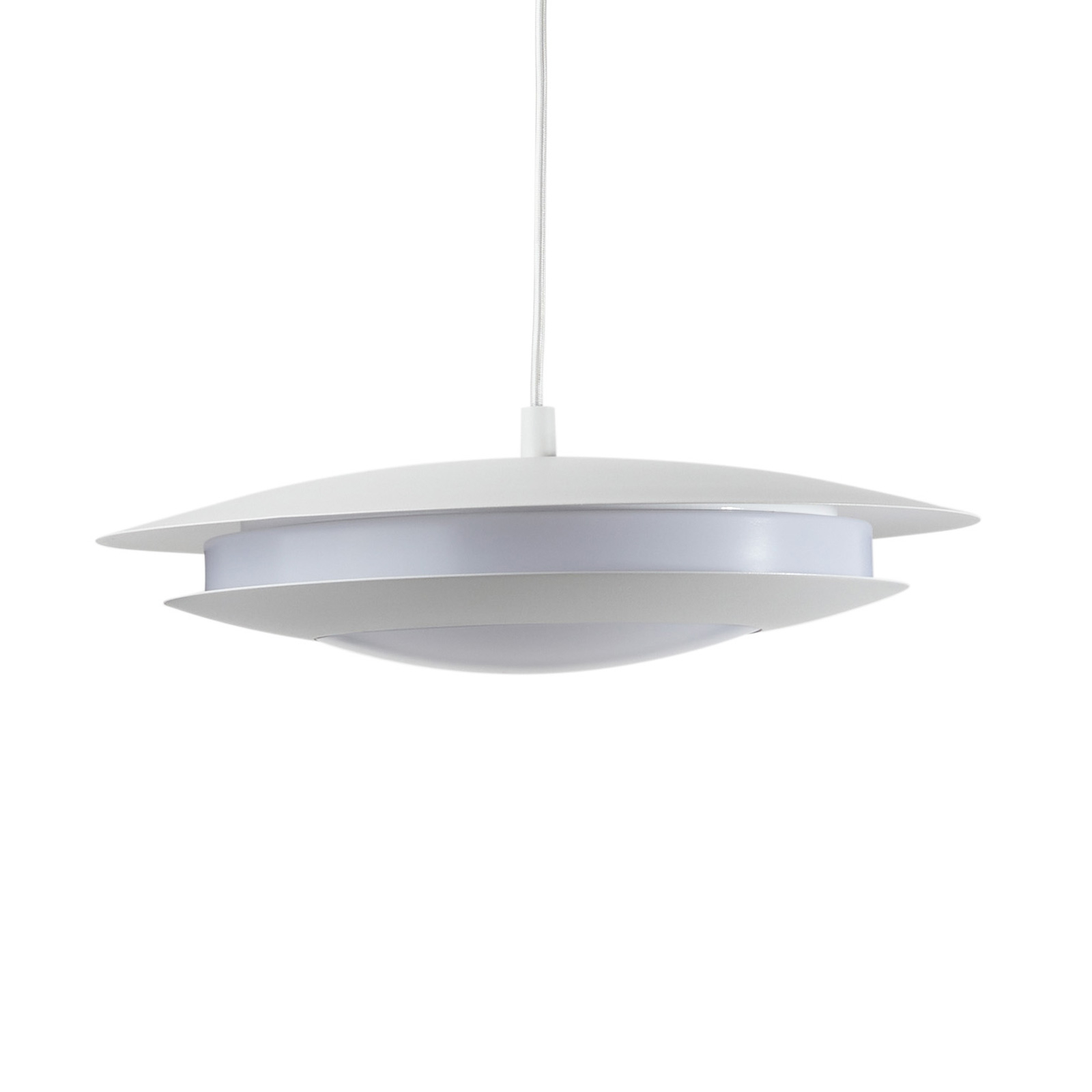 EGLO connect Moneva-C LED-Hängelampe weiß Ø 40,5
