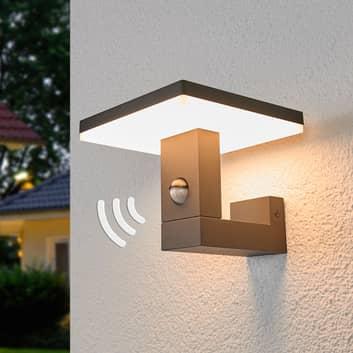 Lampa zewnętrzna Olesia z czujnikiem ruchu, z LED
