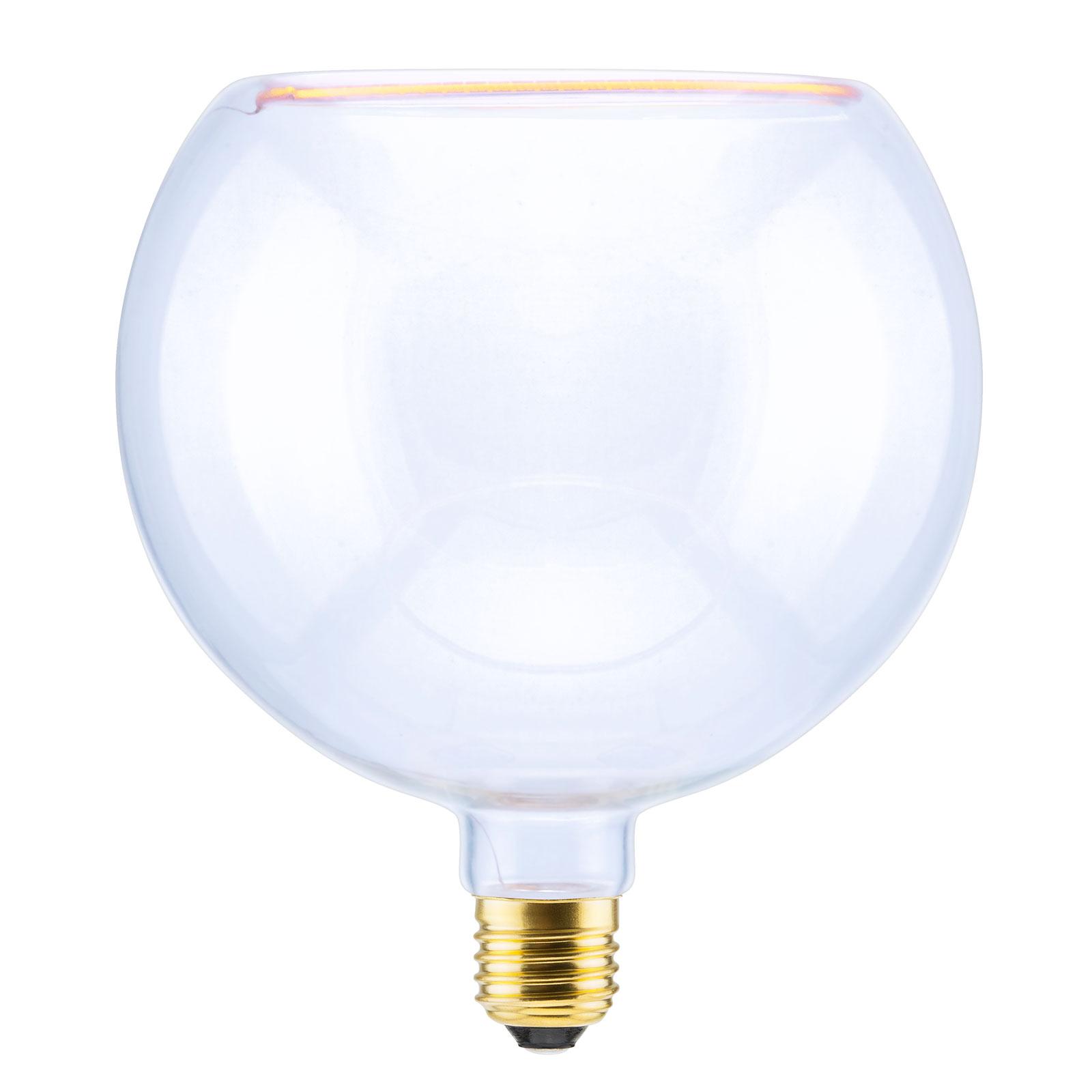 SEGULA LED-globepære flytende 200 E27 8 W klar