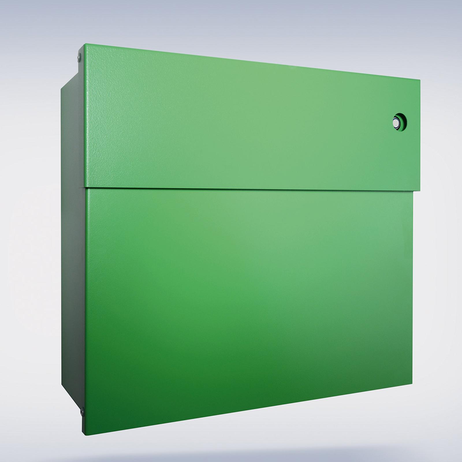 Poštovní schránka Letterman IV se zvonkem, zelená