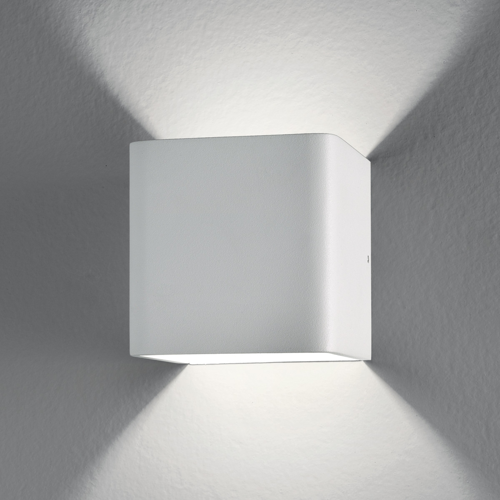Applique LED Gino cubique, 6W