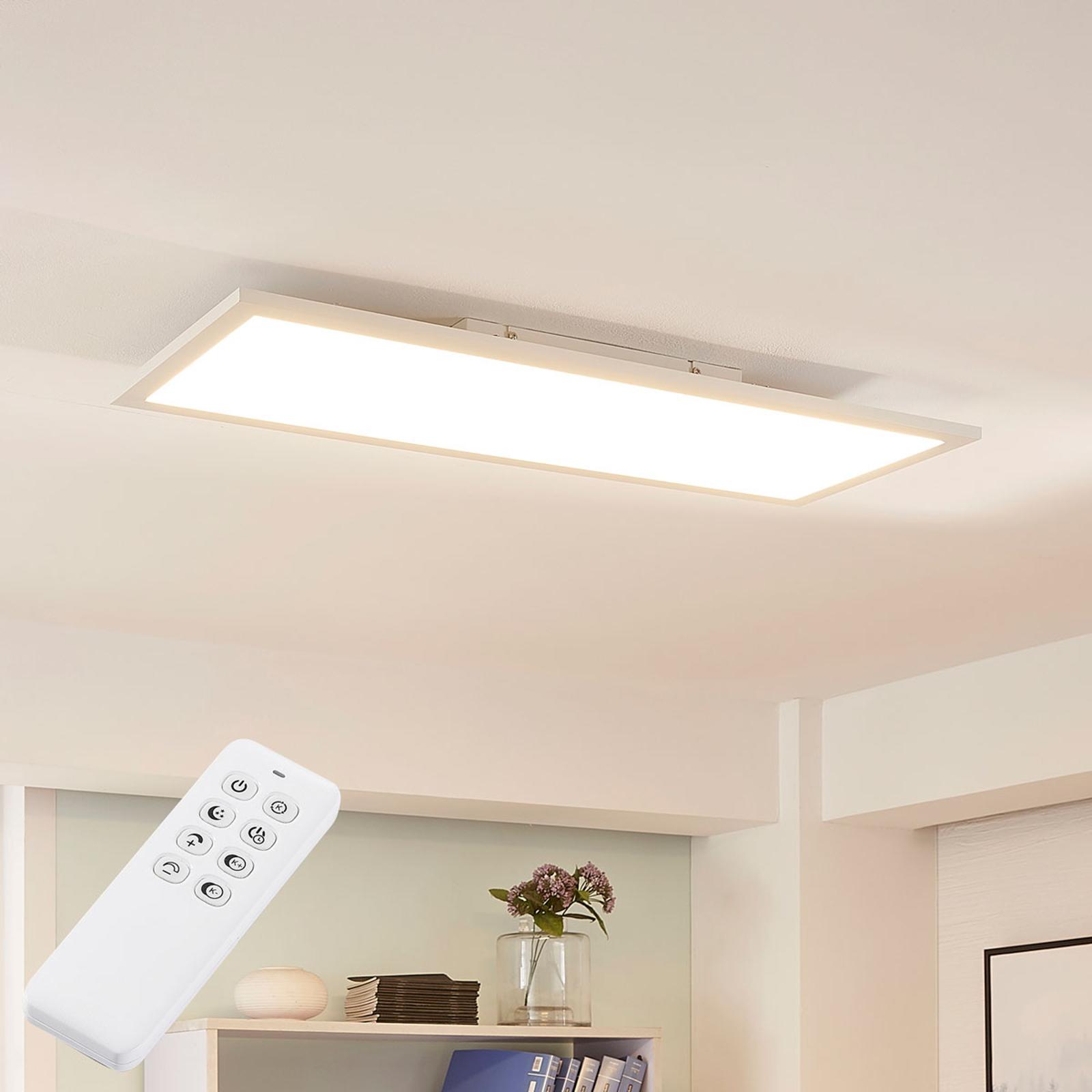 Arcchio Lysander panel LED, CCT, 79 cm, biały