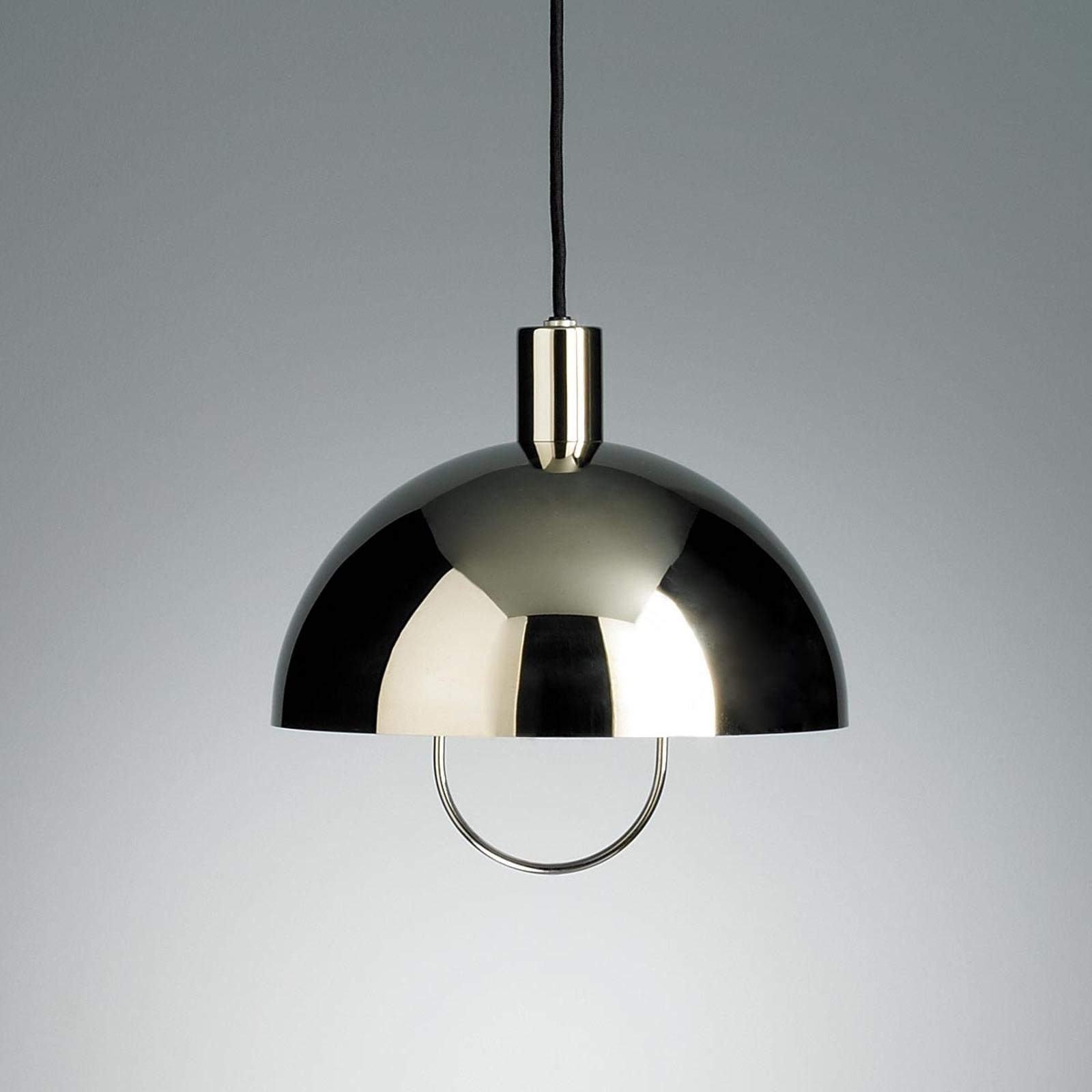 TECNOLUMEN HMB25 hanglamp met rolhijsinr. zilver