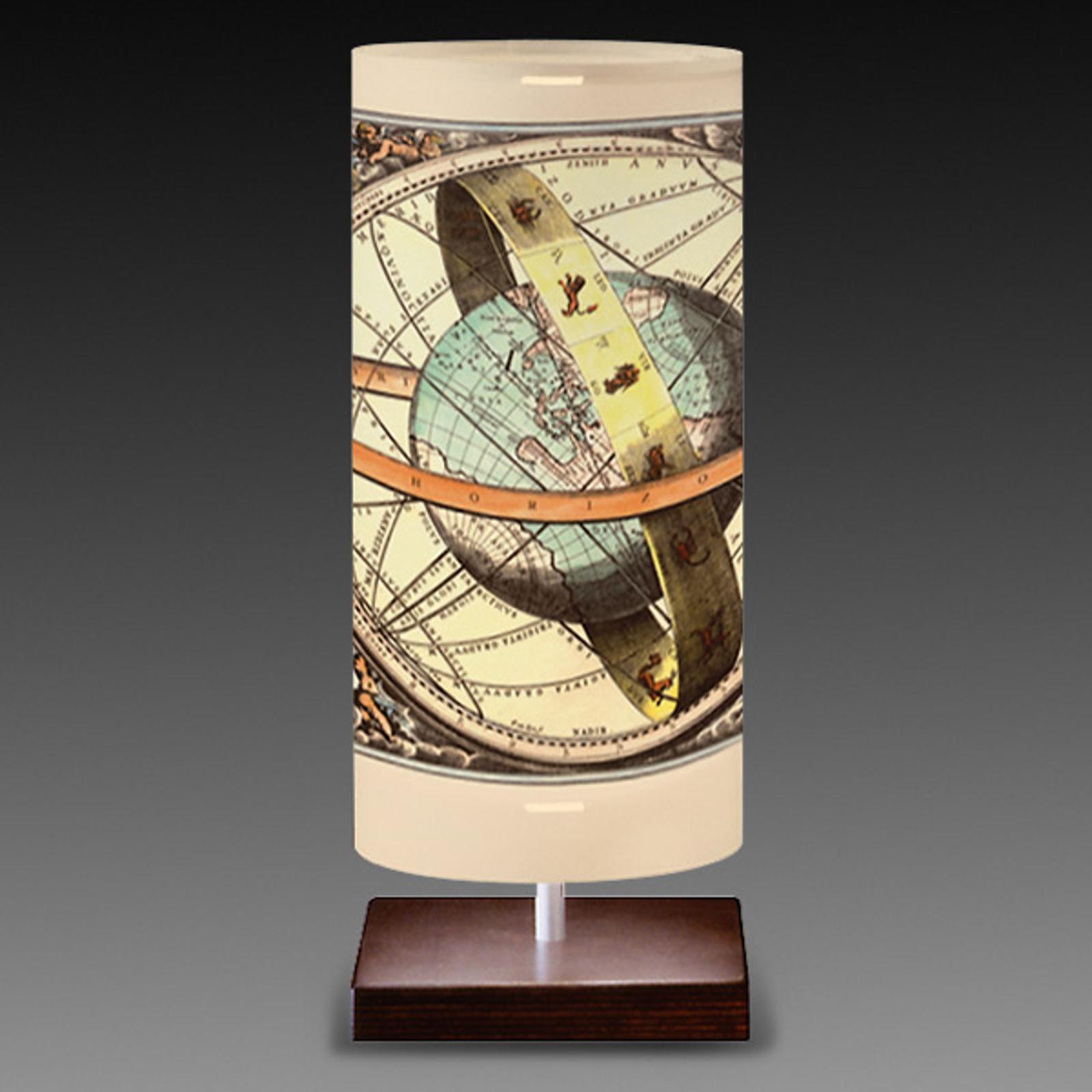Globe - tafellamp in wereldboldesign