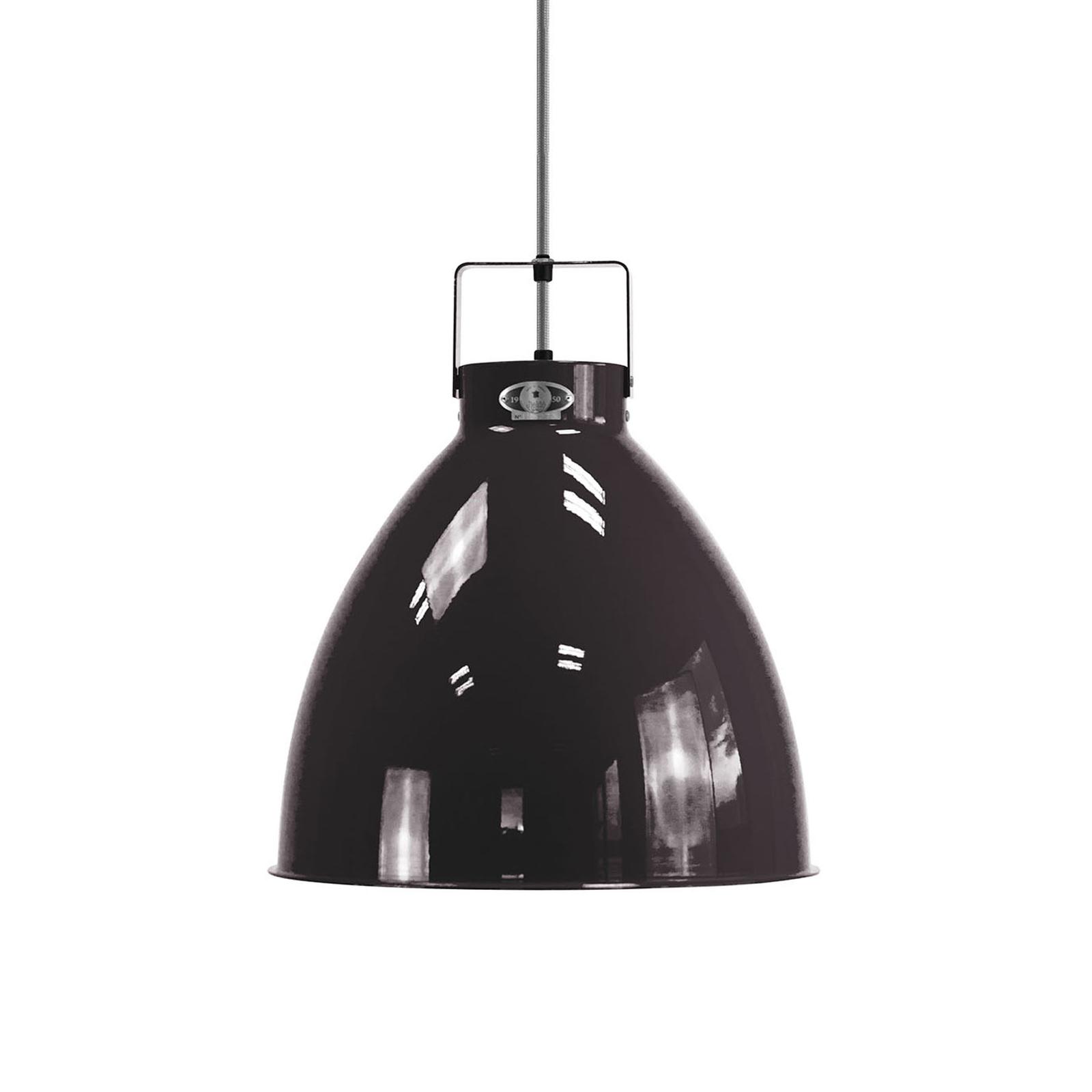 Jieldé Augustin A360 lampa wisząca czarna lśniąca