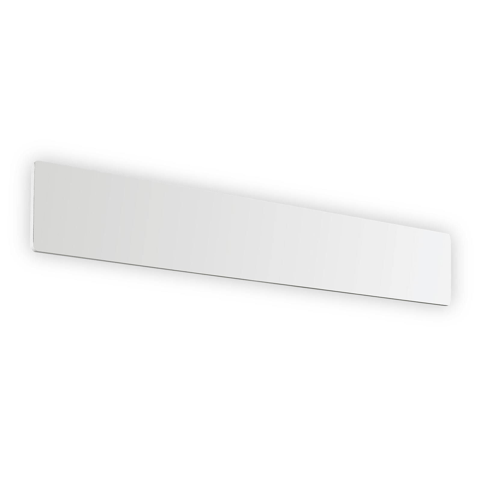 LED-seinävalaisin Zig Zag valkoinen, leveys 53 cm