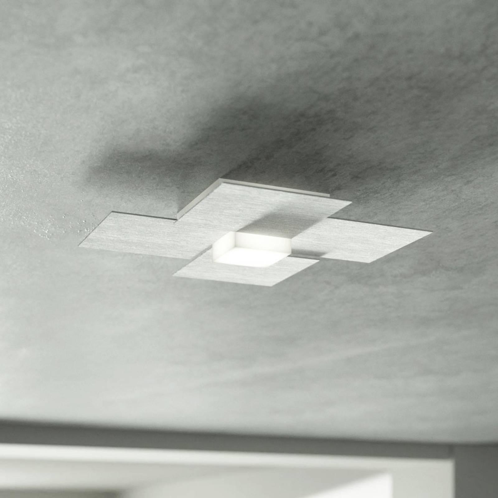 GROSSMANN Creo LED-Deckenleuchte, alu gebürstet