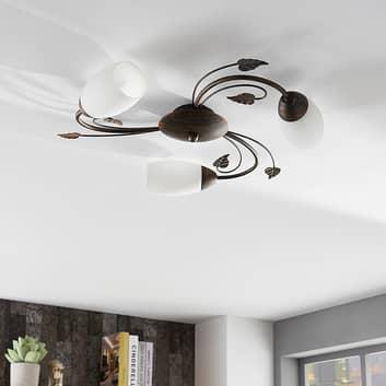 Plafonnier LED Easydim à trois lampes Stefania