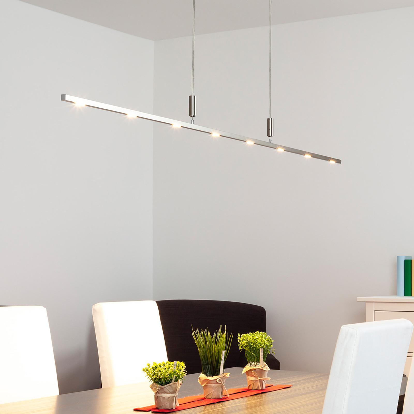 Snella lampada sospesa LED Tolu dimmer., 180 cm