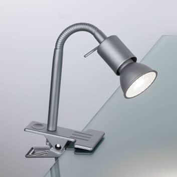 Paulmann Finja lampa z klipsem, chrom