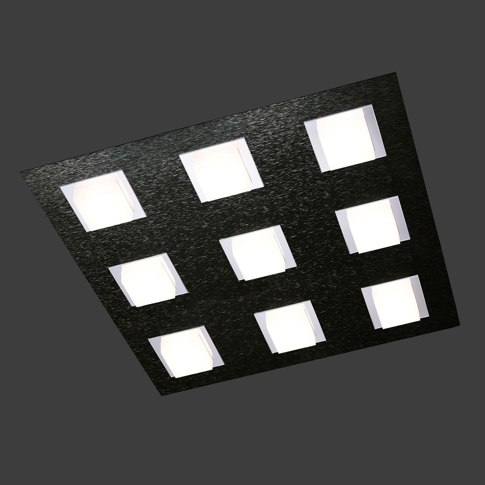 GROSSMANN Basic Deckenleuchte neunflammig schwarz