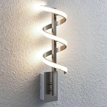 Lámpara de pared LED torcida Pierre