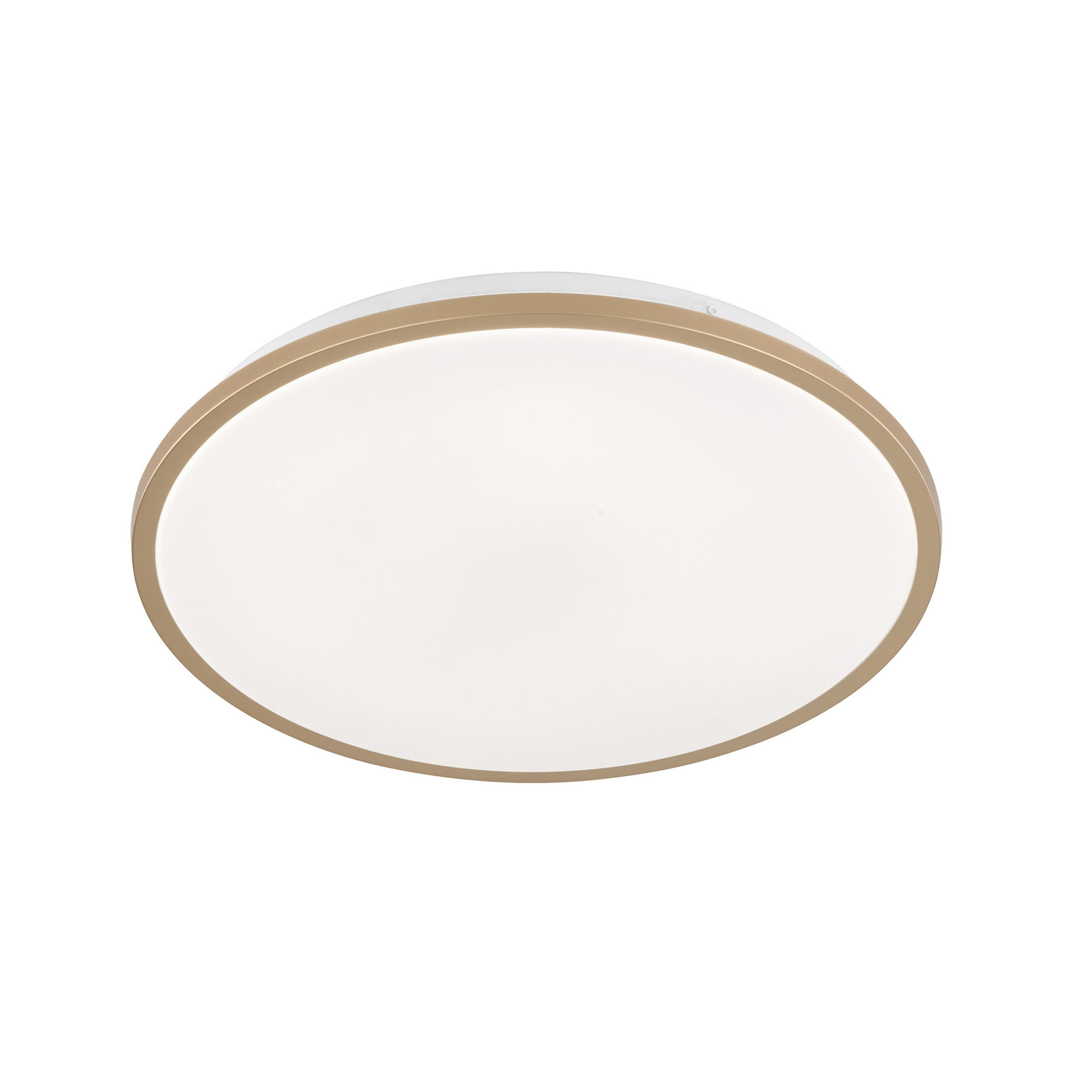 LED plafondlamp Jaso BS, Ø 39 cm, goud