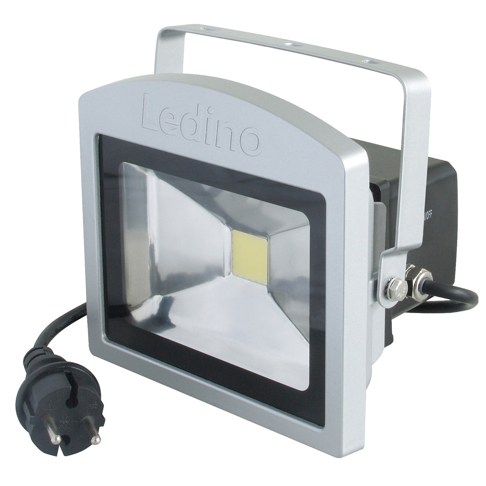Reflektor zewnętrzny LED Benrath, antypanikowy
