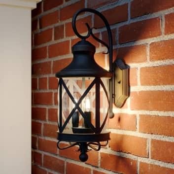 Lucande Marcellino buitenwandlamp, roestkleurig