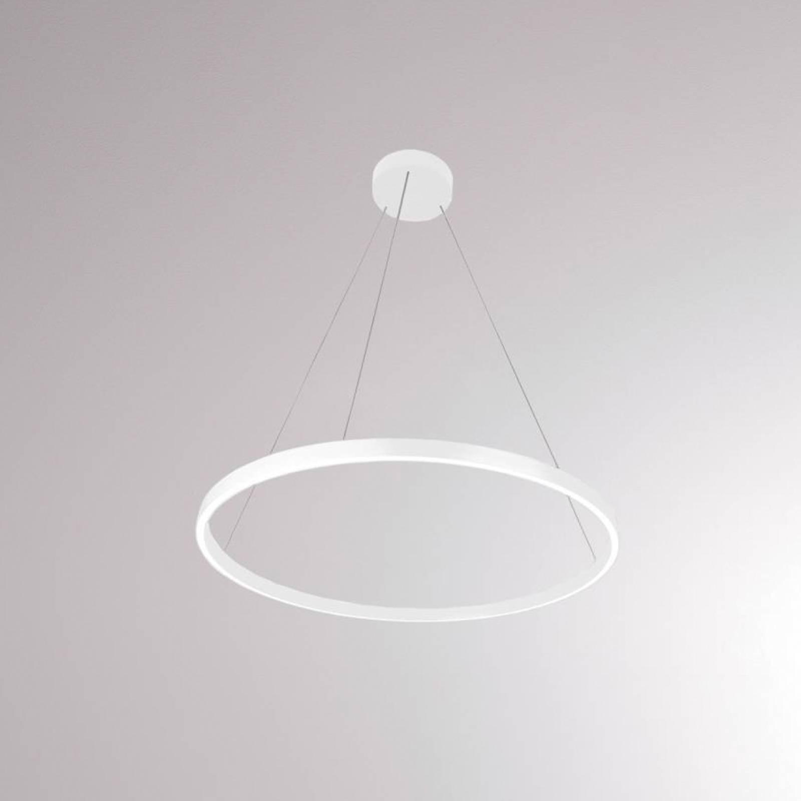 LOUM Perfora M suspension LED Ø 60 cm blanche