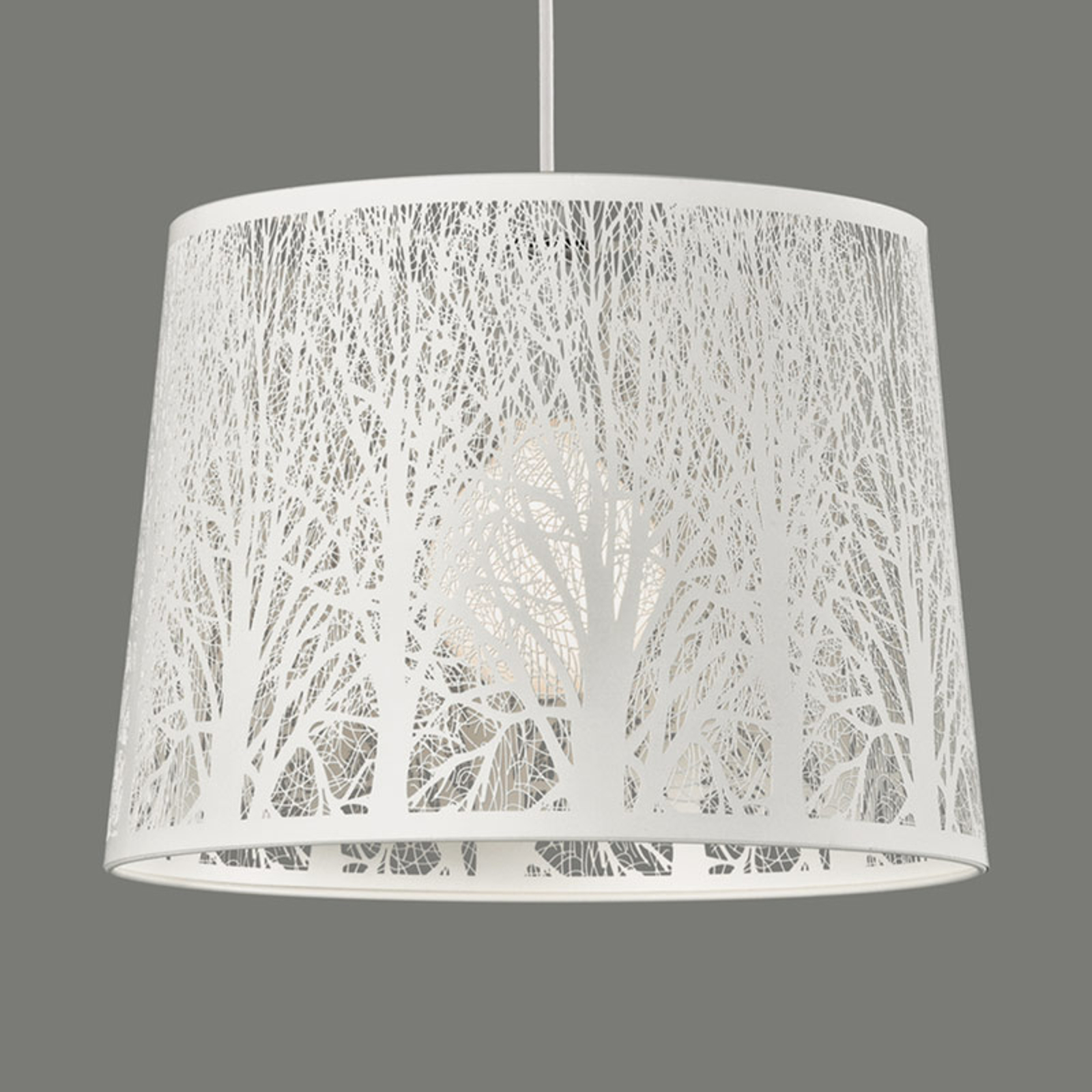 Nintu - suspension avec motifs d'arbre