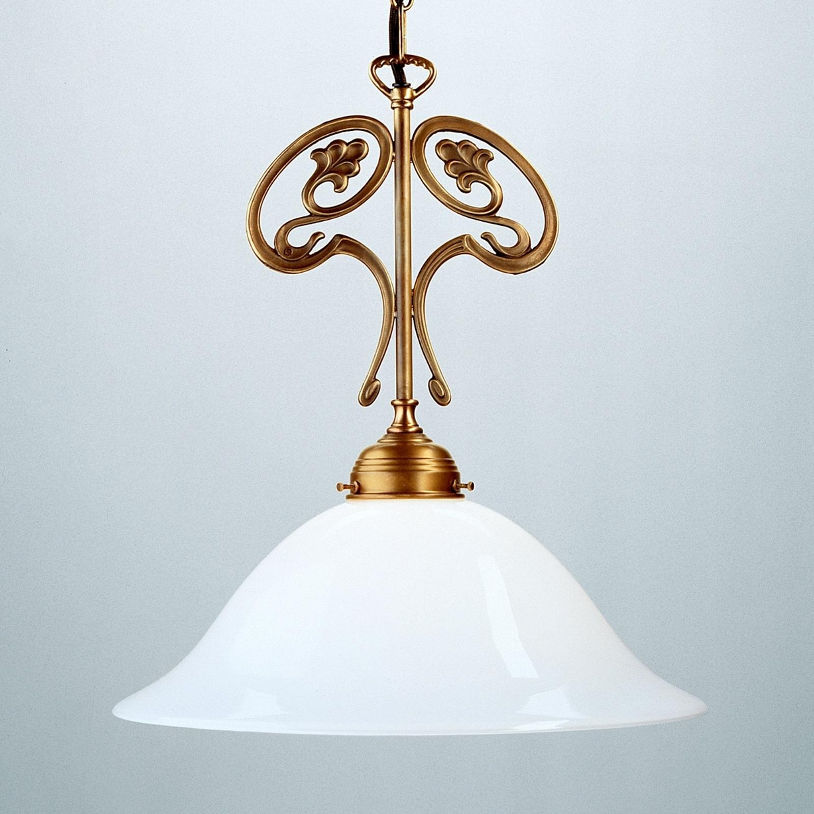 EWALD hanging light made of Berlin brass_1542028_1
