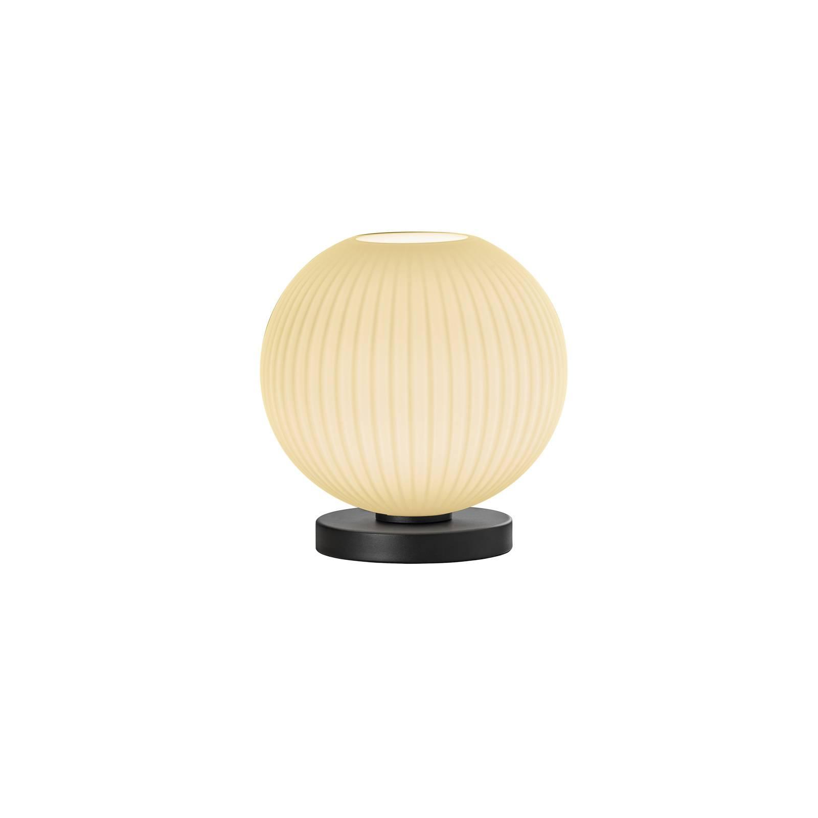 B-Leuchten Loft tafellamp van glas