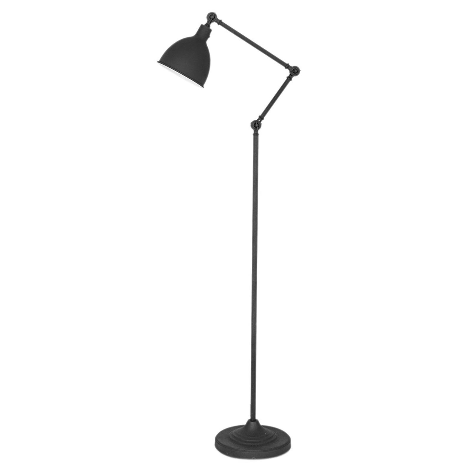 By Rydéns Bazar vloerlamp, zandzwart