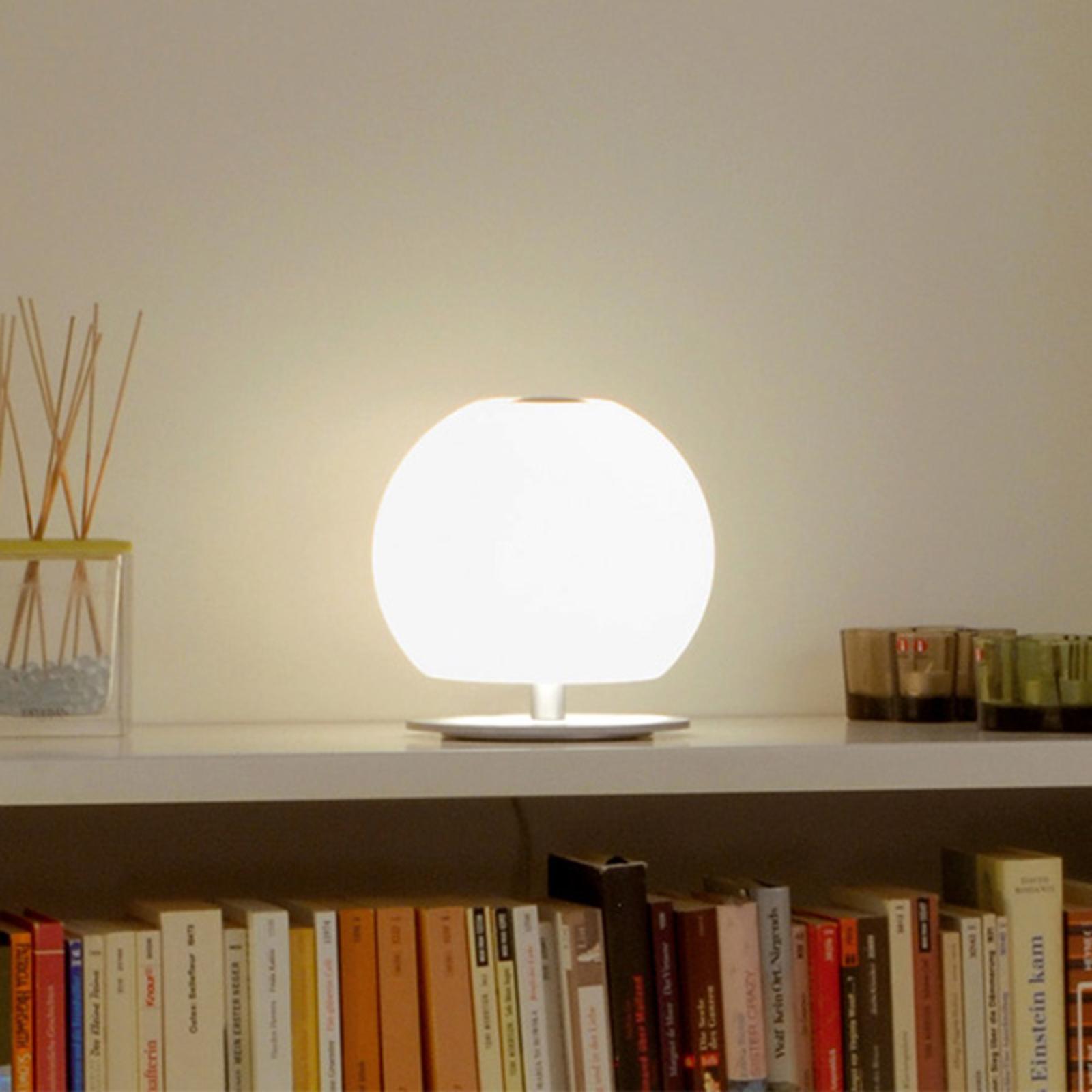 Casablanca Ball bordslampa, höjd 20 cm