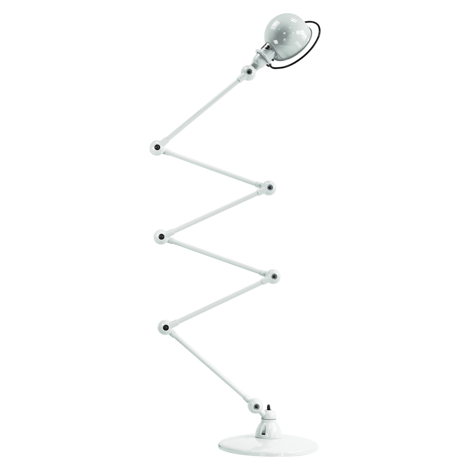 Jieldé Loft D9406 gulvlampe 6 x 40 cm, hvid