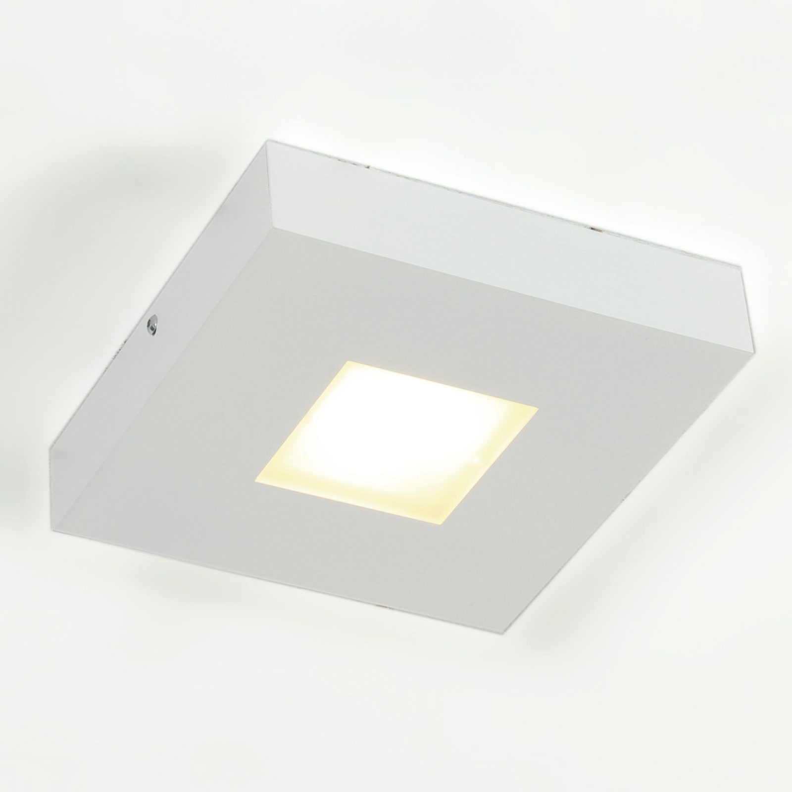 Hoogwaardige LED-plafondlamp Cubus, wit