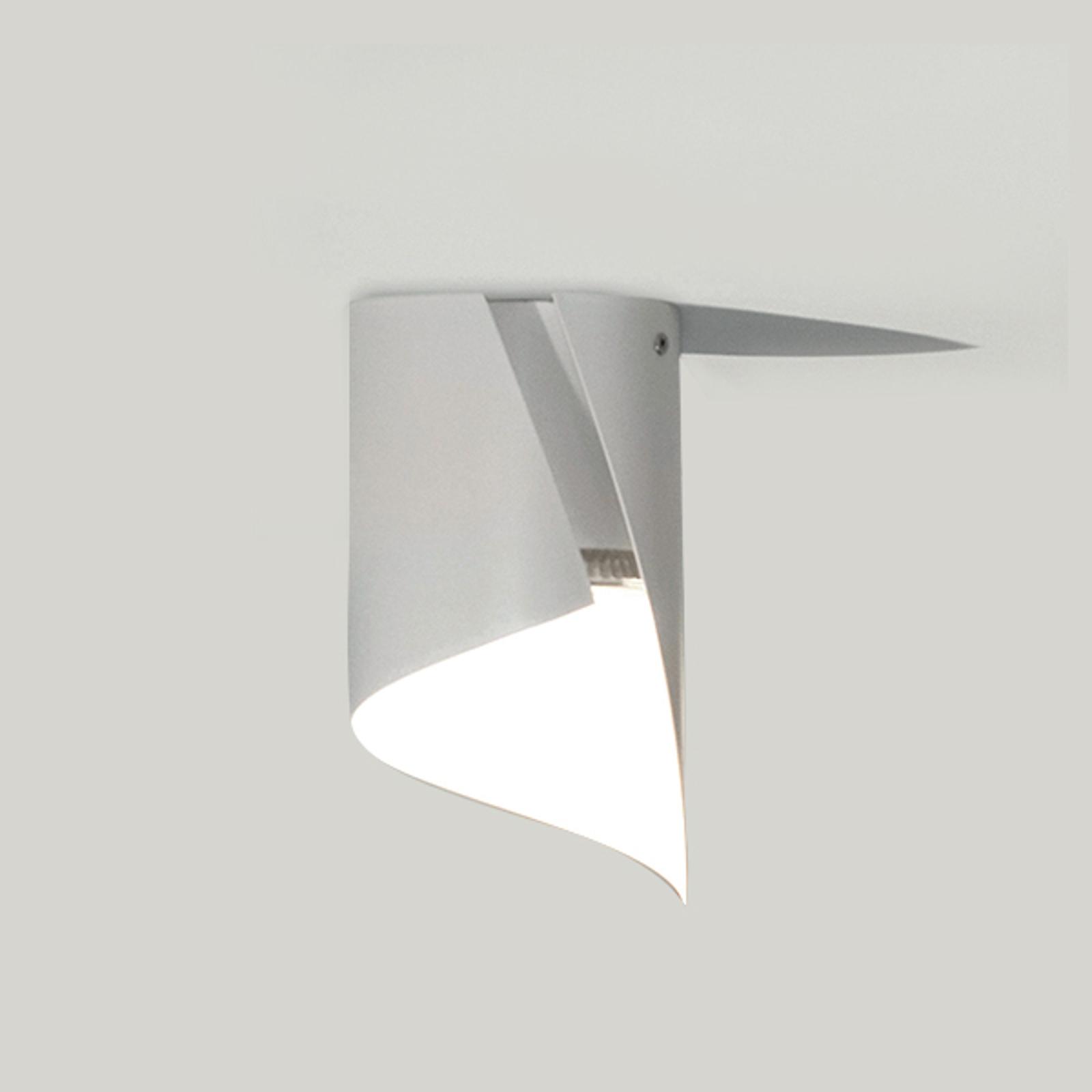 Knikerboker Hué LED-Deckenleuchte 12x21cm weiß