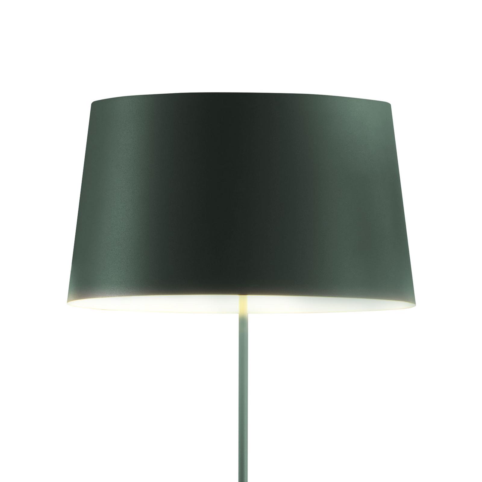 Vibia Warm 4906 design vloerlamp, groen