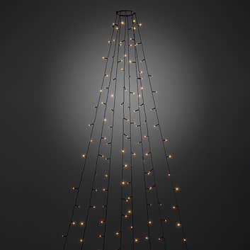LED boomversiering buiten met App
