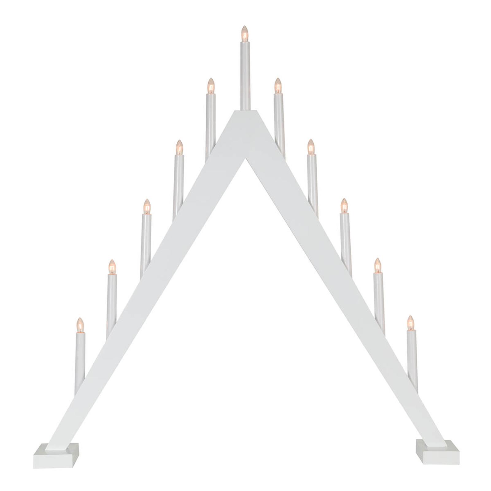 Enkelt utformet lysestake Trill 11 lys