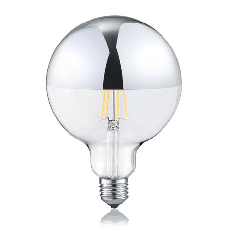 Ampoule LED E27 G125 7W 2700K tête miroir
