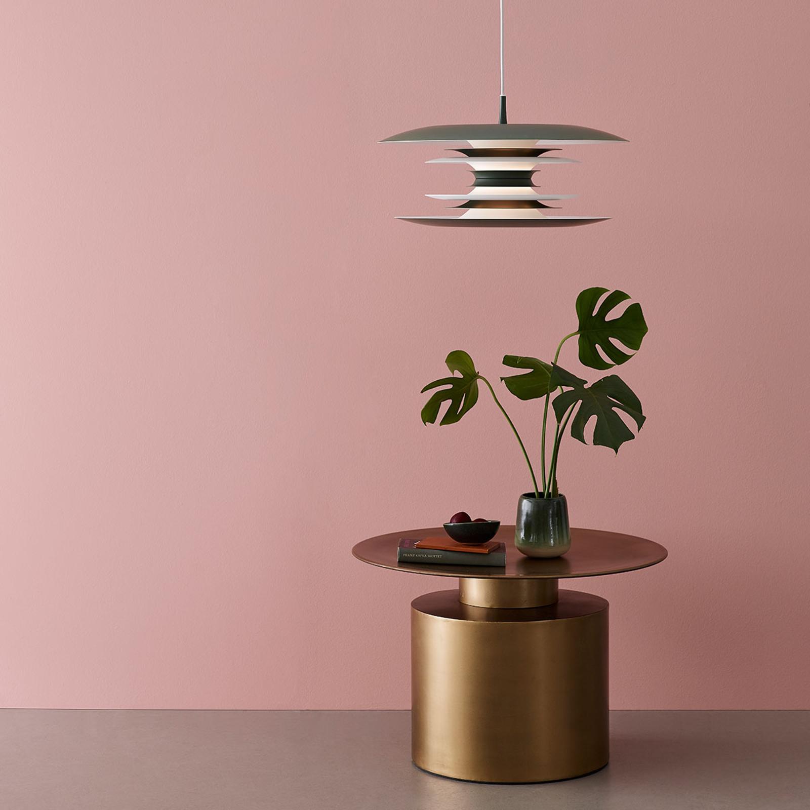 Lampa wisząca LED Diablo Ø 40 cm zieleń awokado
