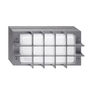 Bliz LED Guard udendørs LED-væglampe, 3.000 K, grå